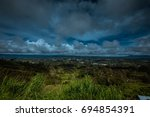 mount hagen valley | Shutterstock . vector #694854391