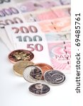 czech republic currency | Shutterstock . vector #69485761