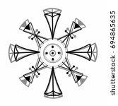 star 4 | Shutterstock .eps vector #694865635