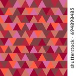 texture of colored triangles... | Shutterstock . vector #694898485