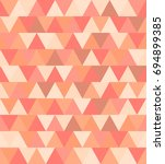 texture of colored triangles... | Shutterstock . vector #694899385