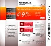 website design business...   Shutterstock .eps vector #69490141