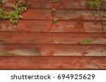 A Rustic Barn Wood Background.