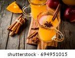 halloween  thanksgiving....   Shutterstock . vector #694951015