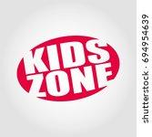 kids zone | Shutterstock .eps vector #694954639