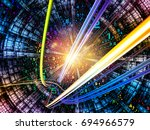number domain series.... | Shutterstock . vector #694966579
