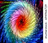 color swirl series. backdrop of ... | Shutterstock . vector #694966729
