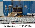 singapore  malaysia   mar 01 ... | Shutterstock . vector #694980514