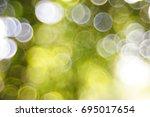 abstract bokeh lights on... | Shutterstock . vector #695017654