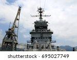 Top Of Artillery Cruiser In Th...