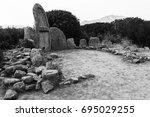 sardinia's origins | Shutterstock . vector #695029255