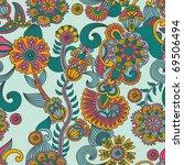 seamless pattern | Shutterstock .eps vector #69506494