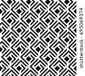seamless abstract lattice... | Shutterstock .eps vector #695069374