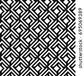 seamless abstract lattice... | Shutterstock .eps vector #695069389