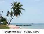krabi   thailand   march 11...   Shutterstock . vector #695074399