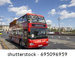 moscow  russia   august  06... | Shutterstock . vector #695096959