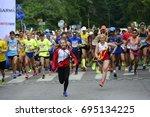 helsinki  finland     august 12 ...   Shutterstock . vector #695134225