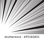 comic and manga books speed... | Shutterstock .eps vector #695182831