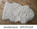 Photo Of A Sheepskin Wool Rug...