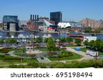 baltimore  maryland   may 1 ... | Shutterstock . vector #695198494