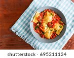 Delicious Ravioli With Tomato...