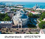 Aerial view on Odessa Opera and Ballet Theater