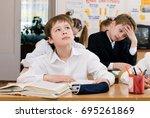 education concept   school...   Shutterstock . vector #695261869