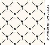 vector seamless geometric... | Shutterstock .eps vector #695292151