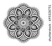 mandala spiritual symbol   Shutterstock .eps vector #695328751
