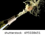 celebration theme with... | Shutterstock . vector #695338651