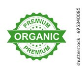 premium organic grunge rubber... | Shutterstock .eps vector #695340085