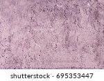 violet concrete wall texture.... | Shutterstock . vector #695353447