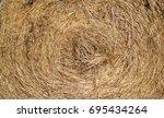 yellow straw texture  closeup...   Shutterstock . vector #695434264