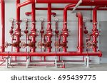 Red Water Pipe Valve Pipe For...