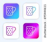 mug bright purple and blue...