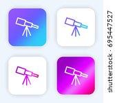 telescope bright purple and...