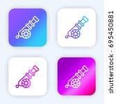 cannon bright purple and blue...