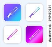 baseball bat bright purple and...