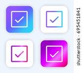 check bright purple and blue...