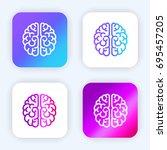 brain bright purple and blue...
