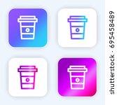 coffee bright purple and blue...