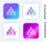 team bright purple and blue...