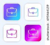 portfolio bright purple and...