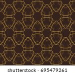 ornamental seamless pattern....   Shutterstock .eps vector #695479261