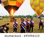 putrajaya  malaysia   august 11 ... | Shutterstock . vector #695496115