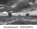 Black And White Photograph Of...