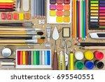 Watercolor Paints  Paintbrushes ...