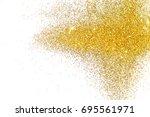 textured background with golden ...   Shutterstock . vector #695561971