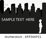 Silhouette Of A Child  Sample...
