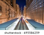 Adams Wabash Train Line Toward...